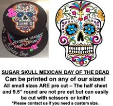 sugar skull cake topper sugar skull edible party images