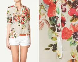 printed blouse über chic for cheap friday wishlist zara printed blouse