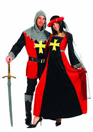 carnival costumes camelot lady and knight camelot fancy dress
