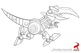 Angry Birds Transformers Coloring Pages Printable Coloring Pages Transformer Color Page