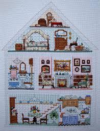 doll house hutch designer jorja hernandez bucilla kit 40771