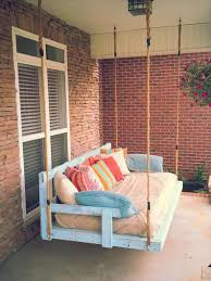 diy reclaimed pallet wood porch swing 101 pallets pallet