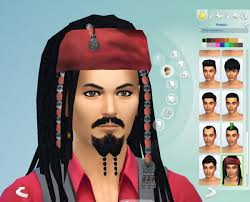 sparrow hair mod the sims captain sparrow hair s4 by necrodog sims 4