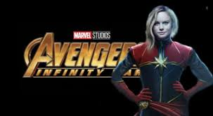 infinity commercial actress wally world marvel fans think they spotted captain marvel in avengers infinity
