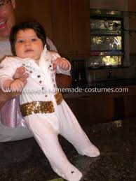 Halloween Costumes 4 Month Babies Cool Homemade Baby Elvis Costume Elvis Costume Homemade Baby