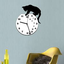 Office Wall Clocks by Compare Prices On Cats Wall Clock Online Shopping Buy Low Price