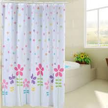 Kids Fabric Shower Curtain - white and blue colored kids elephant cool shower curtains