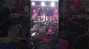 boston common christmas tree lighting dec 1 2016 youtube
