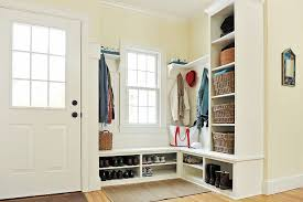 Laundry Room And Mudroom Design Ideas - traditional mud room with glass panel door by tim hebert zillow