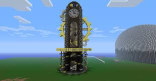 steampunk clock tower minecraft project i love minecraft
