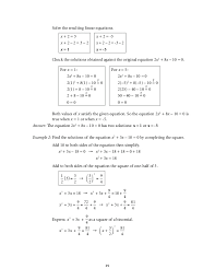 grade 9 mathematics unit 1 quadratic equations and inequalities