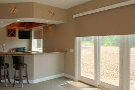 Window Treatments For Patio Doors Window Treatment Ideas For Doors 3 Blind Mice Garage Door Window