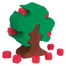 wooden apple tree puzzle glueckskaefer