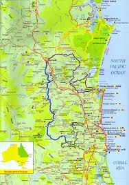 map of queensland regional map regional map coolum coast queensland
