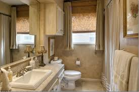 ideas small bathroom window treatments ideas brown window blinds