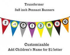 printable transformers birthday banner transformer happy birthday banner bumblebee happy birthday