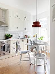 Kitchen Setting Ideas White Scandinavian Kitchen Design Ideas Designs Small Kitchens