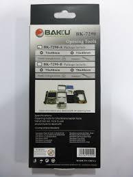 destornillador y pinza para celulares bakku 7290 original bs