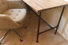 Custom Desk Plans Stylish Diy Pipe Desk Plans 17 Best Images About Pipe Desks On