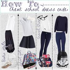 how to cheat dress code polyvore