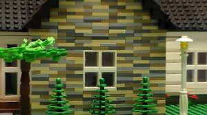 Story House by Lego 1 Story House Custom Youtube