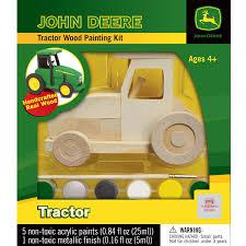 john deere kids tractor wood craft kit home crafts u0026 hobbies