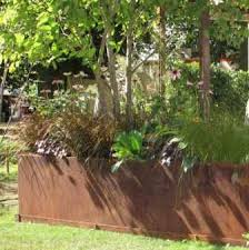 garden planters very large wooden trough planters 1 8m long