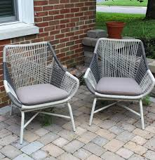 Small Porch Chairs West Elm Huron Small Lawn Chairs Ebth