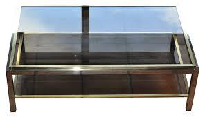 Table En Verre Ronde Ikea by Table Basse Double En Verre Loana Chene U2013 Phaichi Com