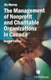 lexisnexis help desk the management of nonprofit and charitable organizations in canada