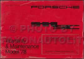 porsche 911 maintenance schedule 1978 1983 porsche 911sc bentley repair shop manual