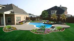 Simple Backyard Landscaping Ideas by 27 Most Beautiful Landscaping Designs Interior Design Inspirations