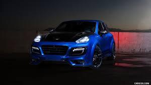 porsche macan 2016 blue techart caricos com
