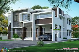 2925 square feet flat roof home kerala home design and floor plans