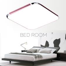 Ceiling Lights Bedroom Modern 36w Rgb Led Square Ceiling Light Flush Mount Pendant Lamp