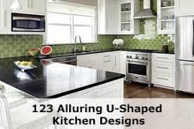 U Shaped Kitchen Designs 123 Breathtaking U Shaped Kitchen Designs