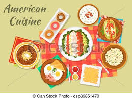 cuisine dinner typical dishes of cuisine dinner icon vectors