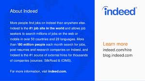 Indeed Resume Posting Finding Your Next Great Hire With Indeed Resume