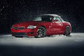 my z4m in the snow bmw