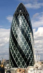 foster swiss re tower 2000 04 used black paint to relegate