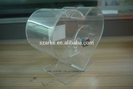 heart shaped piggy bank wholesale transparent heart shaped acrylic donation box small