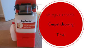 Are Rug Doctors Steam Cleaners Rug Doctor Carpet Cleaning Time L Clare Elise Youtube