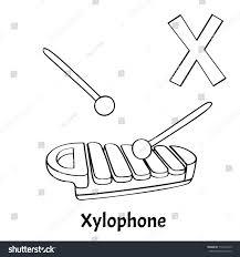 vector alphabet letter coloring stock vector 712244719