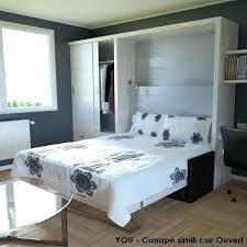 armoire lit avec canapé lit escamotable avec banquette meuble avec lit integre lits