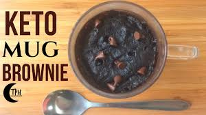 keto microwave brownie 2 minute low carb mug brownie recipe