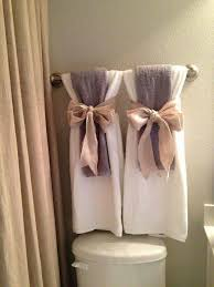 Bathroom Towels Ideas Towel Arrangements Great Ideas Pinterest Towels Bathroom