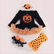 newborn halloween costume baby costume pumpkin promotion shop for promotional baby costume