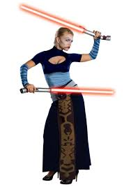 Womens Costumes Asajj Ventress Womens Costume Star Wars Halloween