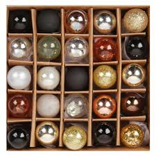 neutral mini glass baubles 2cm box of 25 all
