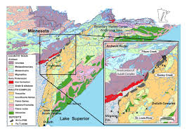 Boundary Waters Map Emerging Geoenvironmental Issues Related To Proposed Mining In The